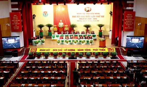 越共中央经济部长阮文平出席越共得农省第十二次代表大会 hinh anh 1