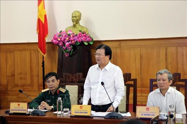 政府副总理郑廷勇:需主动采取各种方案应对自然灾害 hinh anh 1