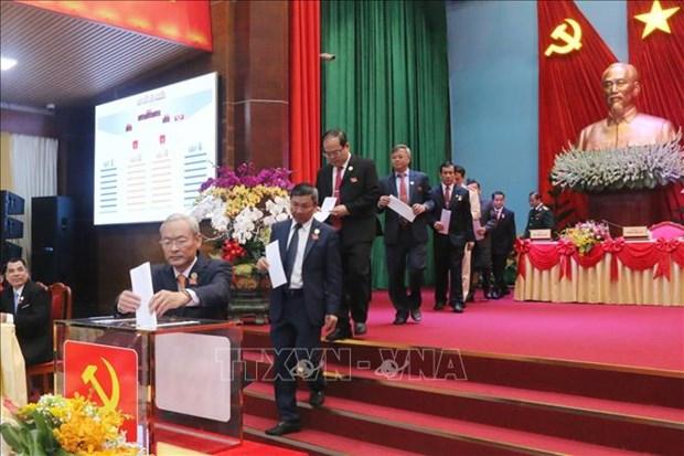 越共同奈、薄辽、平定等省党代会选举产生新一届领导机构 hinh anh 1