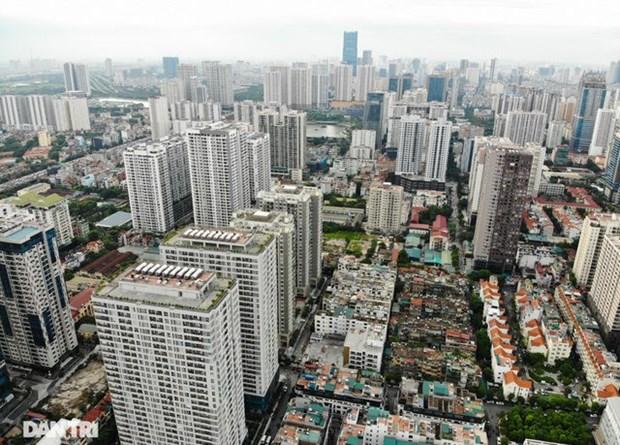 2020年第三季度河内市普通公寓价格上涨3-5% hinh anh 1