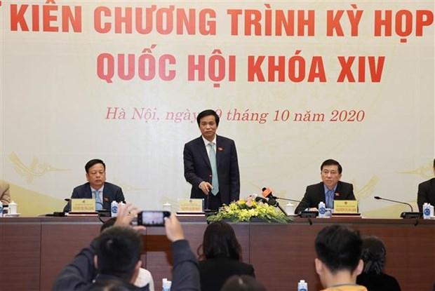 越南第十四届国会第十次会议会期19天 hinh anh 2