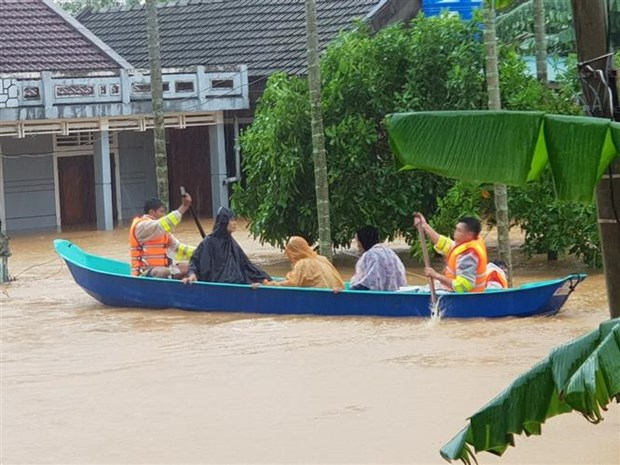 越南政府总理决定发放4000吨大米援助中部灾民 hinh anh 2