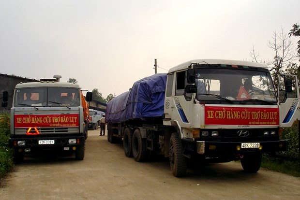 越南国家储备局向受灾各省发放5000吨大米 hinh anh 1