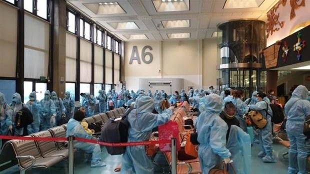 将在中国台湾滞留的近360名越南公民接回国 hinh anh 1