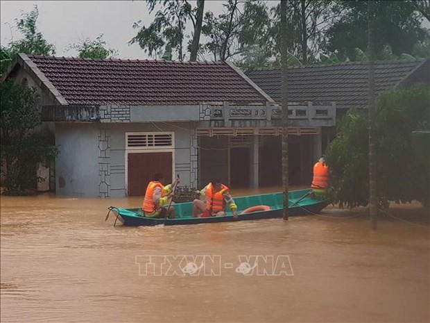 各国领导就越南中部遭受严重洪涝灾害致慰问电 hinh anh 1