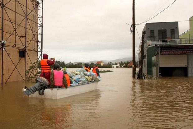 旅居澳大利亚和加拿大越南人积极向中部地区灾民提供援助 hinh anh 1