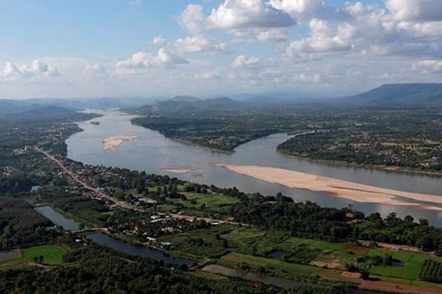 中国与湄公河委员会签署全年水文数据共享协议 hinh anh 1