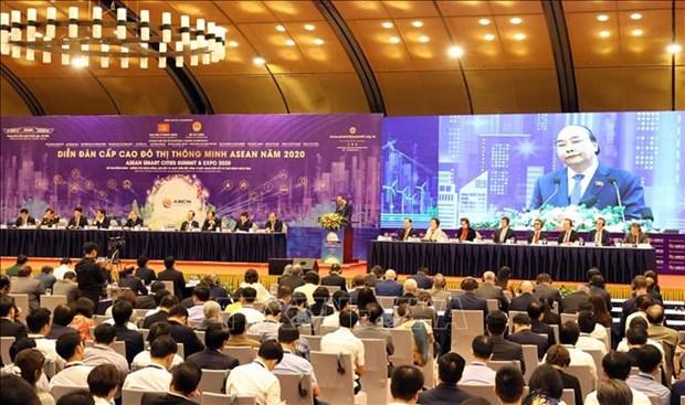 政府总理阮春福:发展智慧城市 走向人的全面发展 hinh anh 4