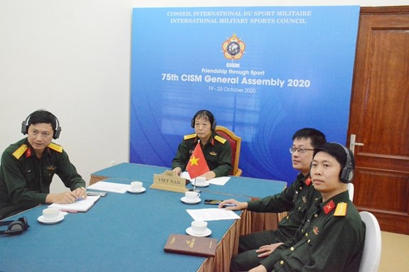 越南参加国际军事体育理事会第75届军体大会 hinh anh 1