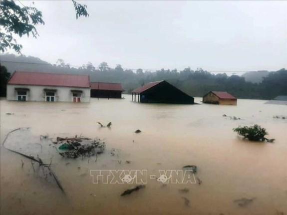 广平省仍有2000间房屋被淹 hinh anh 1