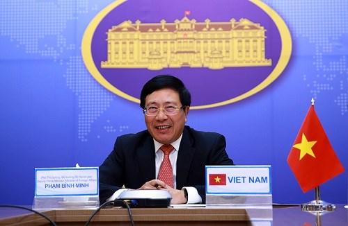 越南与马来西亚两国外长通电话 hinh anh 1