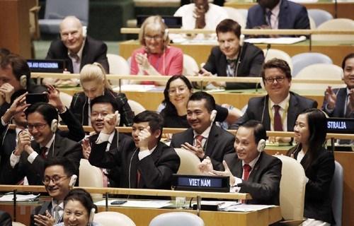 联合国——越南多边外交起航的基础 hinh anh 1