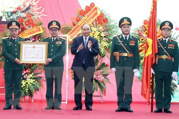 国防情报总局传统日75周年:荣获一级卫国勋章 hinh anh 1