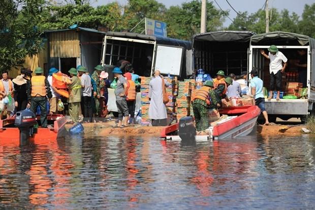 美国政府就中部地区洪灾对越南表示慰问 hinh anh 1