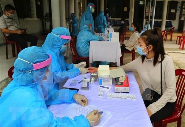 新冠肺炎疫情:正在治疗的99名患者中有23人呈新冠肺炎阴性反应 hinh anh 1