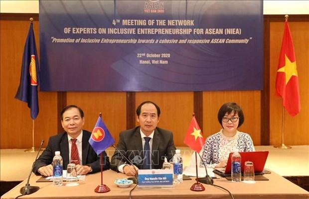2020年东盟轮值主席国:促进残疾人包容性创业 hinh anh 1