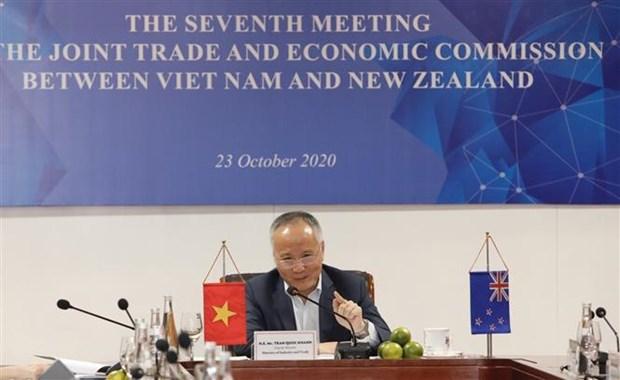 越南与新西兰努力提升双方贸易金额 hinh anh 2