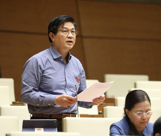越南第十四届国会第10次会议:确保边境地区乡级人民委员会签署国际协定的质量和能力 hinh anh 2