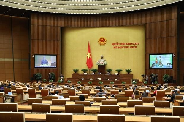 越南第十四届国会第10次会议:确保边境地区乡级人民委员会签署国际协定的质量和能力 hinh anh 3