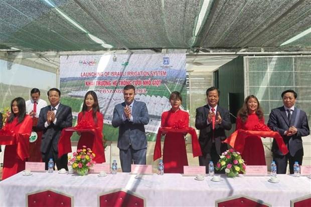 促进越南太原省与以色列在高科技农业领域的合作 hinh anh 2