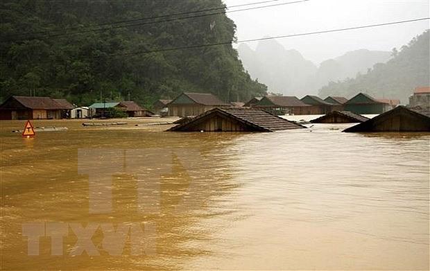 印尼政府就越南中部洪涝灾害向越方政府致慰问电 hinh anh 1