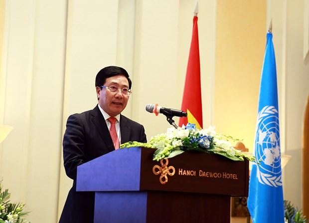联合国成立75周年:联合国继续成为多边合作的灯塔 hinh anh 1