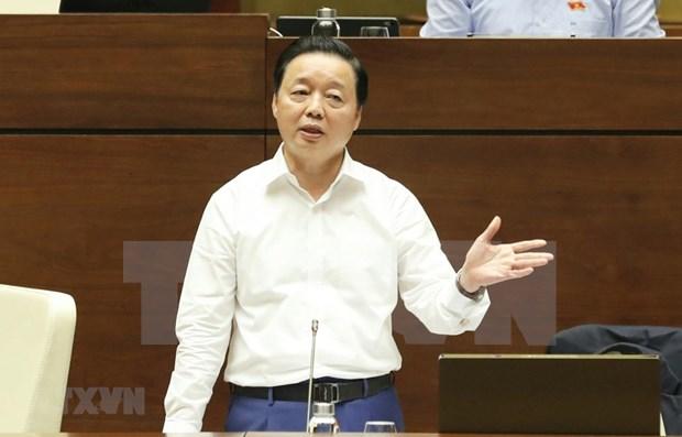 越南第十四届国会第十次会议:致力于改善环境质量的目标 hinh anh 1