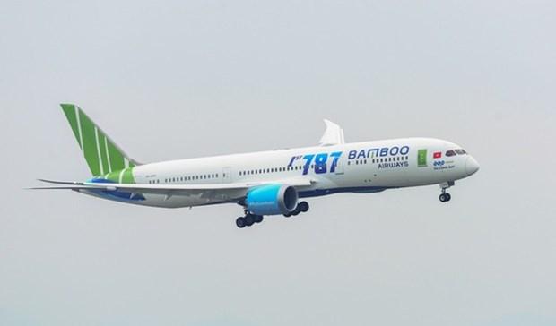 受第九号台风影响越竹调整部分航班飞行计划 hinh anh 1