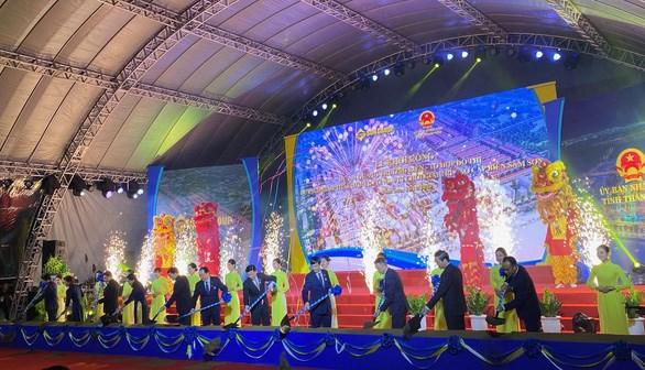 清化省高端综合型生态旅游、娱乐休闲度假区项目开工建设 hinh anh 1