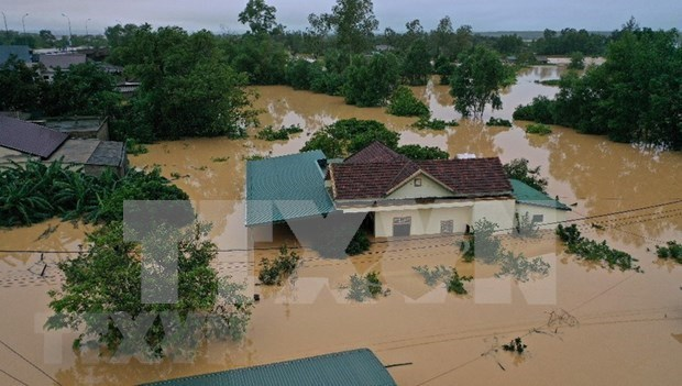 东盟各国外交部长就东盟部分国家的洪水和山体滑坡灾害发表声明 hinh anh 1