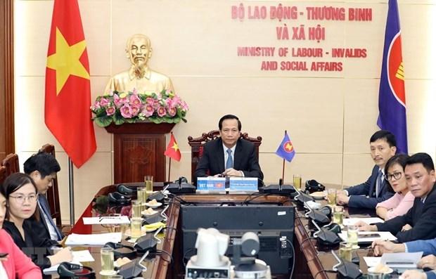 ASEAN 2020: 发展适应第四次工业革命的劳动力资源 hinh anh 1