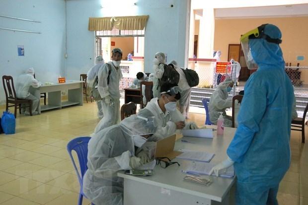 越南新增1例新冠肺炎确诊病例 入境之后立即隔离 hinh anh 1