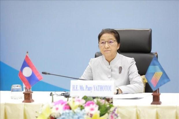 老挝国会集中经济复苏目标 hinh anh 1