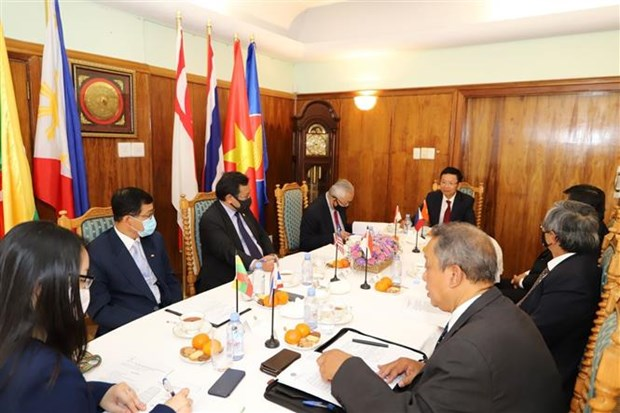 2020东盟主席年:东盟各国驻南非大使高度评价越南的作用 hinh anh 1