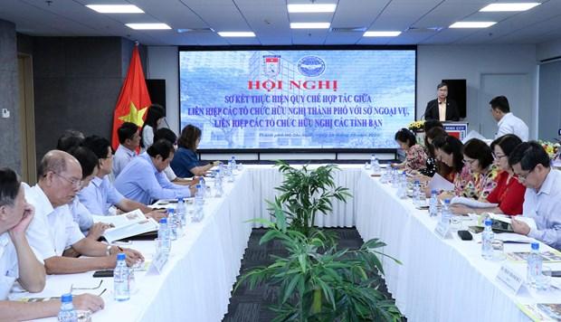 越南南部各省市加强配合提升民间外交工作协调制度执行力 hinh anh 2