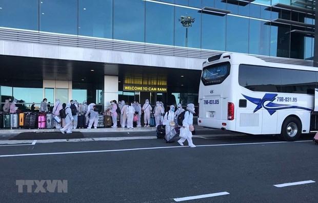 新冠肺炎疫情:将滞留在日本的逾350名越南公民接回国 hinh anh 1