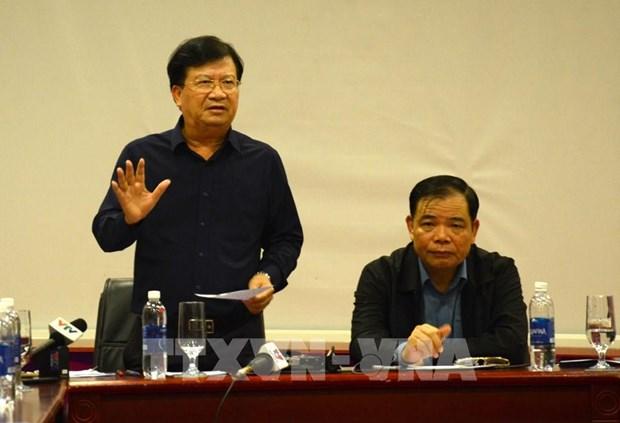 郑廷勇副总理:立即开展台风过后5项紧迫任务 hinh anh 1