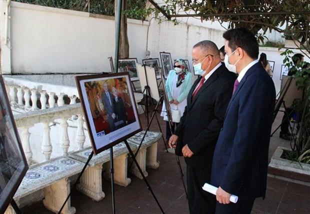 纪念越南与阿尔及利亚建交58周年图片展在阿尔及利亚举行 hinh anh 1