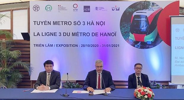 河内城铁3号线将于2021年内正式投运 hinh anh 1