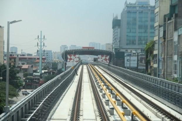 河内城铁3号线将于2021年内正式投运 hinh anh 2