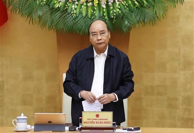 政府总理阮春福:推动经济加快复苏 努力实现今年经济增长2.5-3%的目标 hinh anh 1