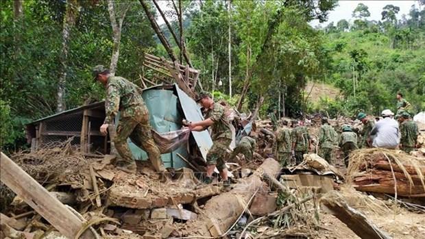 严格落实政府总理有关克服灾害后果的指导意见 hinh anh 1