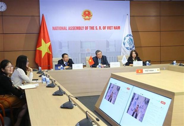 越南国会代表团出席各国议会联盟理事特别会议 hinh anh 1