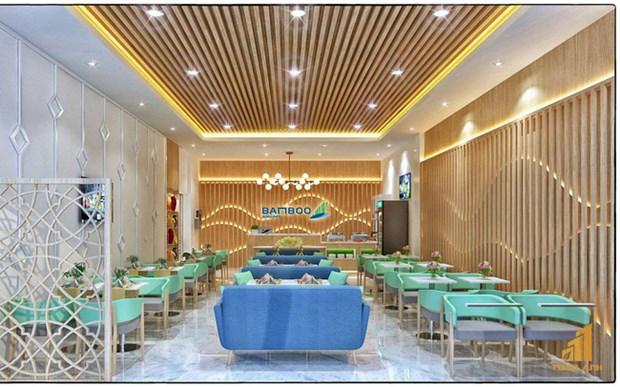 越竹在昆岛机场的贵宾休息室正式启用 hinh anh 2