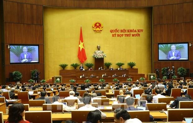 第十四届国会第十次会议:有效破解经济社会发展中的5大难题 hinh anh 1