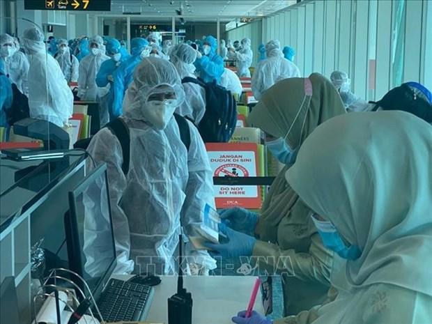新冠肺炎疫情:越南新增3例输入性病例 hinh anh 1