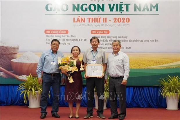ST25大米继续保持越南最佳大米的称号 hinh anh 2