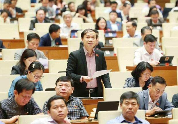 第十四届国会第10次会议:助推国内大型经济集团成为供应链与价值链中的支撑 hinh anh 2