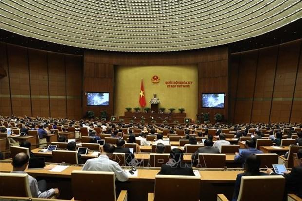 第十四届国会第10次会议:助推国内大型经济集团成为供应链与价值链中的支撑 hinh anh 1