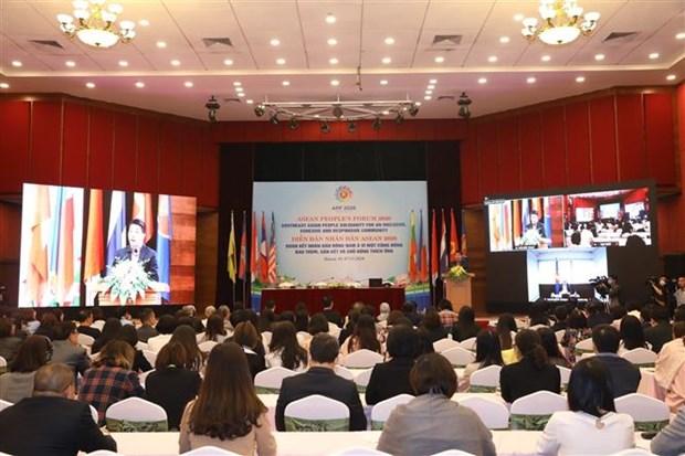 加强东南亚人民团结 致力于包容性增长、互联互通和主动适应的共同体 hinh anh 1